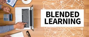 picture of blending learning